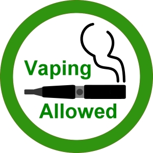 vaping allowed